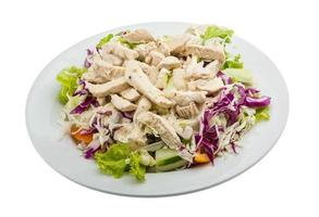salada de galinha foto