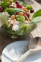 salada de espinafre. foto