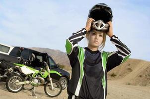 pilotos de motocross foto