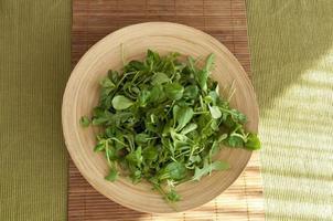 prato de salada foto