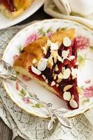 torta de ameixa foto