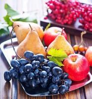 frutas de outono foto