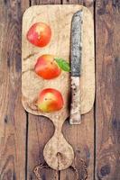 peras colhidas foto