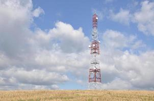 torre de telecomunicações foto