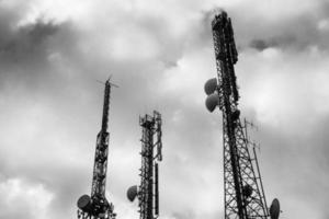 torres de telecomunicações foto