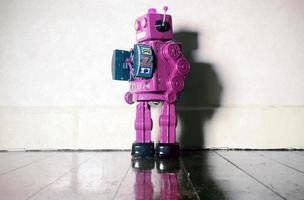 pino robô foto