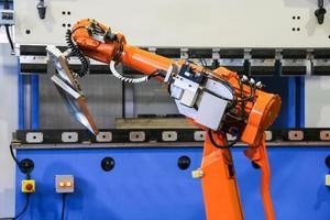 máquina de dobrar robô