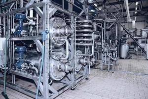 planta de processamento de alimentos