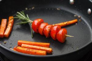 Vegetais assados foto