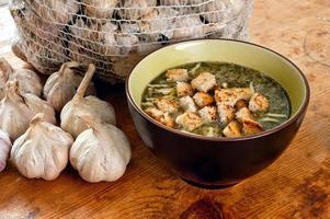 sopa de alho foto