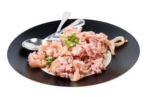 salsicha de porco cozida foto