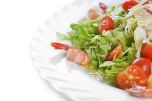 salada com frutos do mar foto
