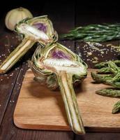 artochoke e aspargus