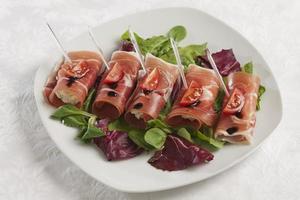 rolos de bacon foto