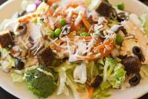 tudo salada de legumes foto