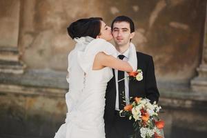 dia do casamento foto