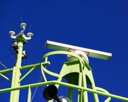 sistema de radar a bordo foto