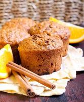 muffins de cenoura e marmelada foto