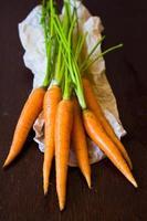 bando de cenoura foto