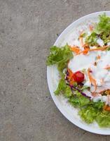 salada para dieta foto