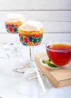 cupcakes de cenoura foto