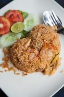 arroz frito foto