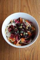 tigela de salada primavera