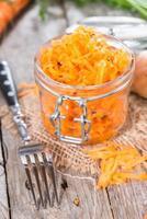 salada de cenoura foto