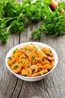 salada de legumes de cenoura foto