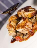 carnes - cédula de galinha-da-índia foto