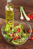 salada saborosa. foto
