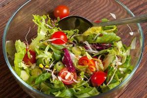 salada saborosa.