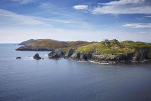 ilha do sherkin de leuchtturm irlanda foto