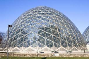 jardins botânicos sob cúpula foto