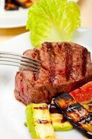 filé mignon de carne grelhado