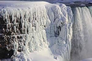 rocha de gelo foto