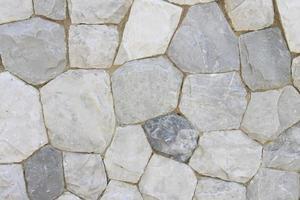 parede com padrão de rocha foto