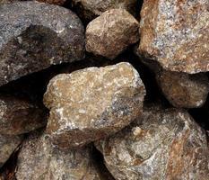 rochas em puerto cayo, equador foto