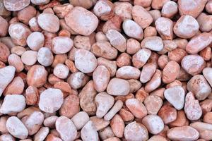 fundo de pequenas pedras vermelhas foto