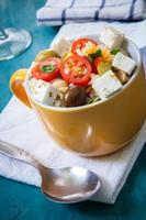 salada de macarrão foto