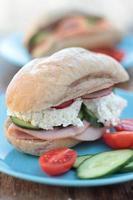 sanduíche. foto