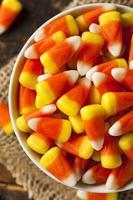 milho doce colorido para o halloween