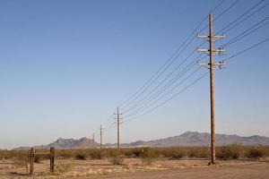 linhas de energia foto
