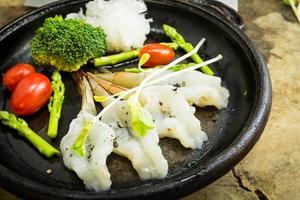 camarão fresco foto