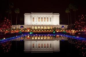 templo mórmon de mesa foto