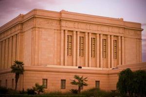 templo mórmon de mesa arizona (lds) foto