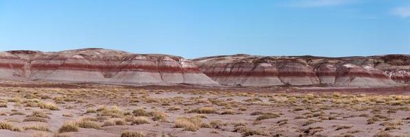 panaorama do deserto pintado foto
