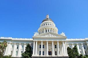 museu do capitólio do estado da califórnia foto