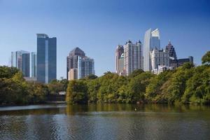 Atlanta, no centro da cidade. foto