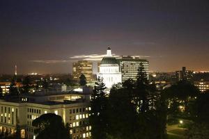 capital do estado da califórnia em sacramento foto